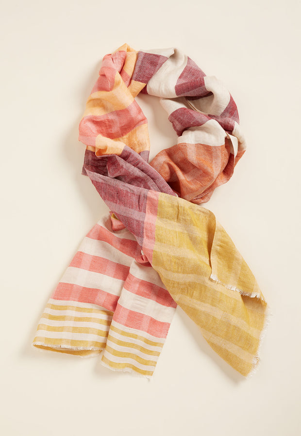 Woven Scarf - Flame