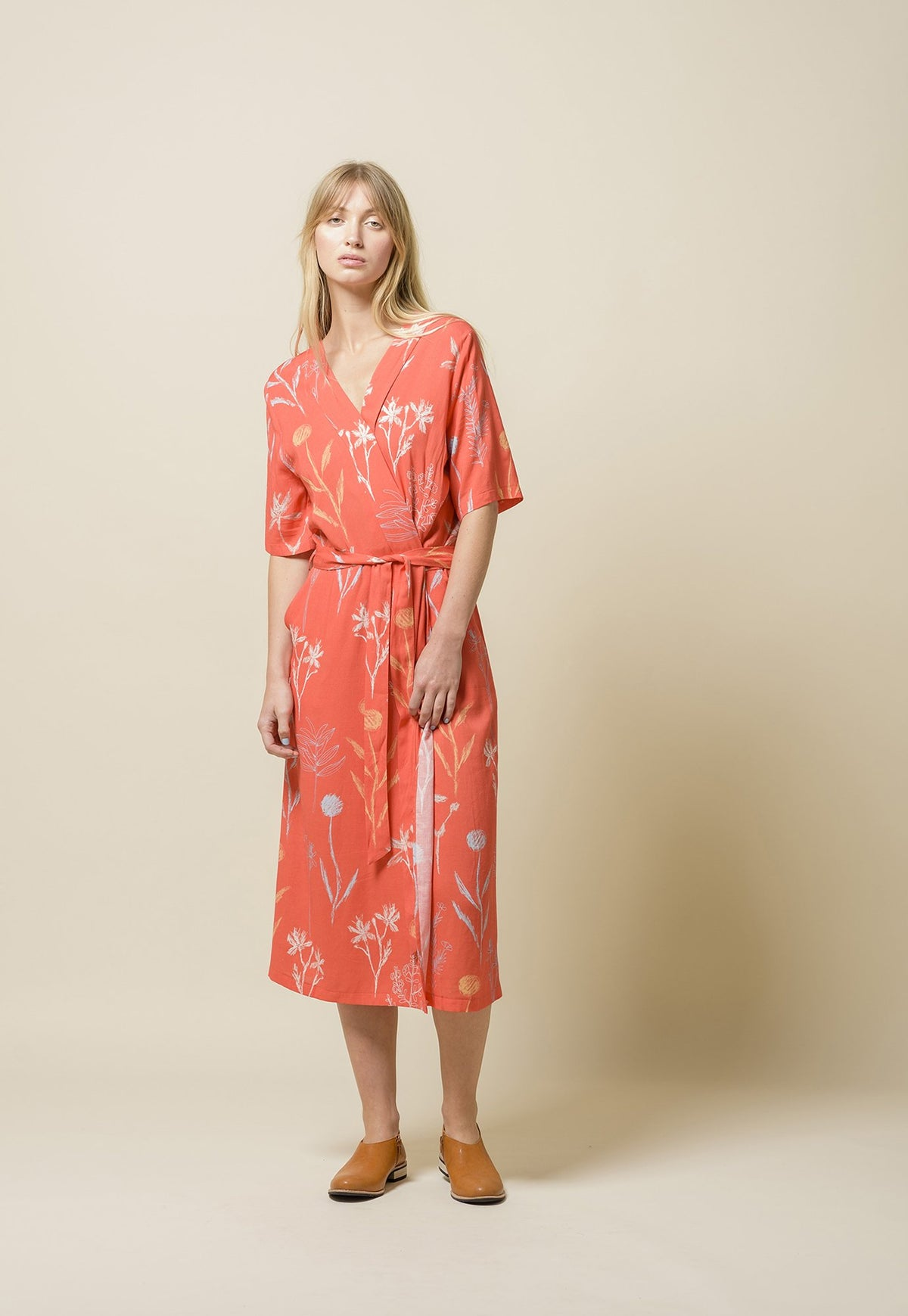 Wrap Dress - Wildflower
