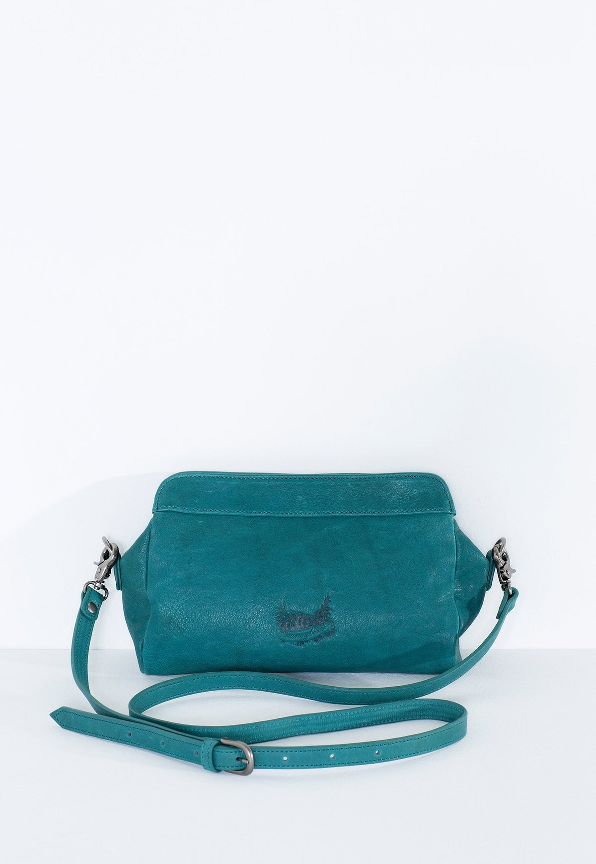 Woven Clutch - Teal