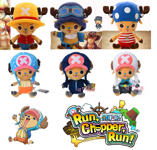 Cosplaying Tony Tony Chopper Collectible Plush Doll