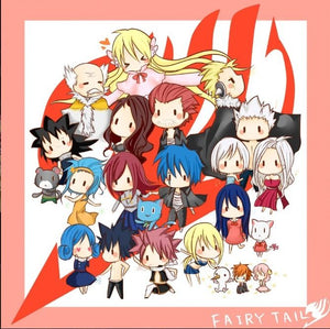 Fairy Tail Collectible Action Figure Toys & Keychains