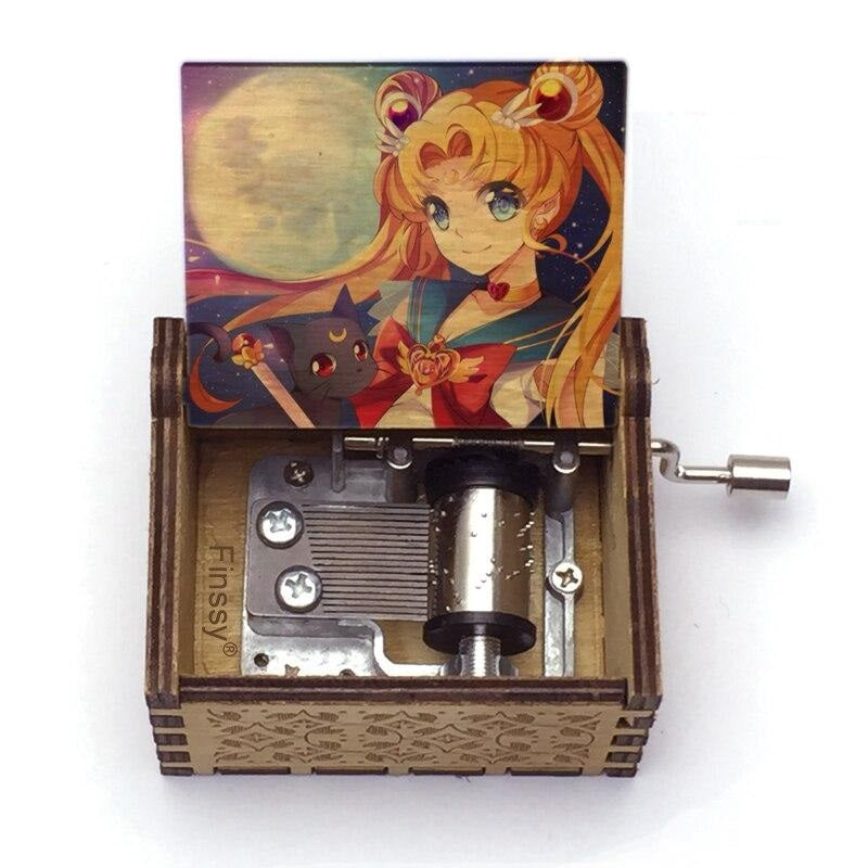 Sailor Moon (Sailor Characters) - Moonlight Densetsu Theme Music Chest