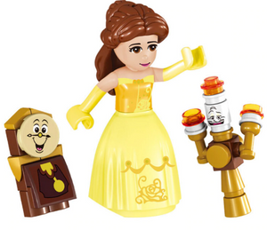 Beauty And The Beast - Toy Enchanted Castle