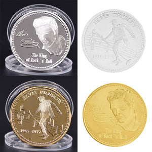 Elvis Presley Coin-  The King's Commemorative