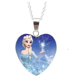 Frozen Necklace - Heart Pendant