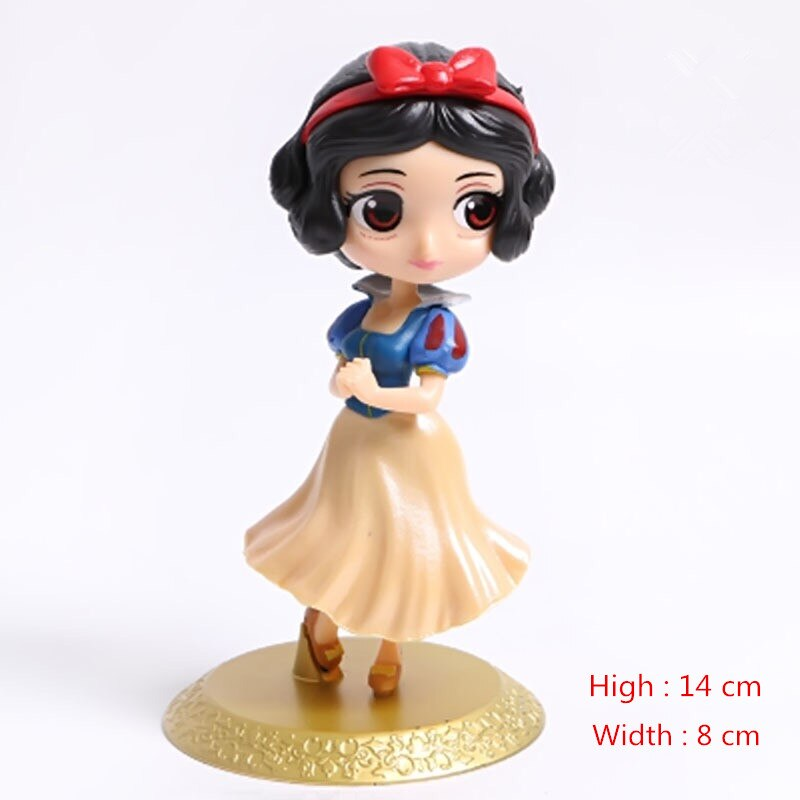 Disney Princess Action Figures PVC Model Doll Collection Gift for Kids