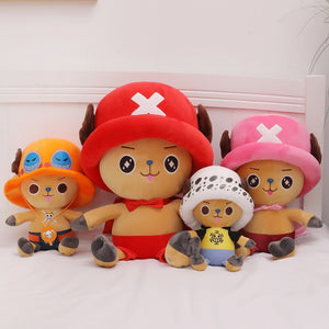 One Piece's Cute Pirate Doctor Tony Tony Chopper Collectible Plush Doll