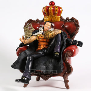 One Piece Desert King Crocodile Sitting Sofa Version Collectible PVC Figure Model Toy