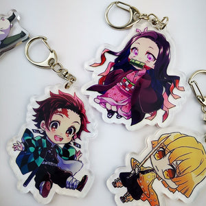 Demon Slayer Collectible Prop Accessory Acrylic Key Chain