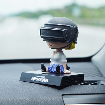 Popular Video Game PUBG Bobble Head PVC Figure Model