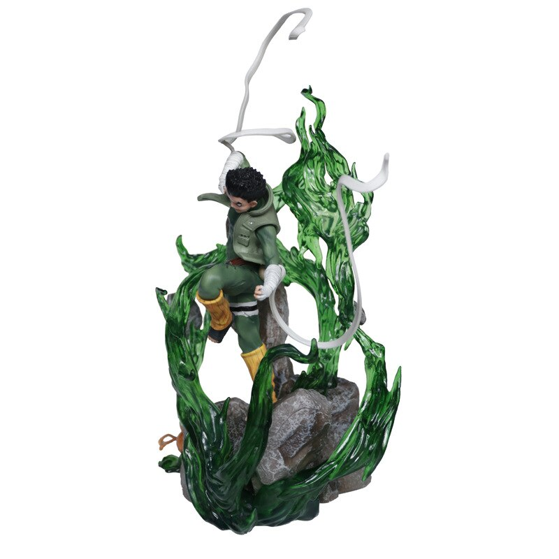 Anime Naruto Rock Lee Action Figures Model Collection Toy