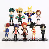 My Hero Academia Collectible PVC Action Figure Toy Model Bundle