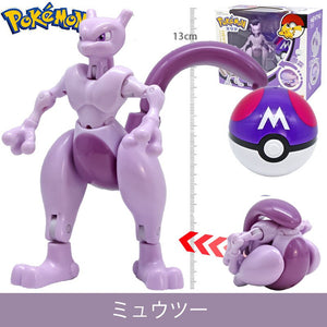 Pokemon Collectible Deformable Pokeball Figure Toys - Adorable Gifts For Children