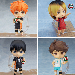 Hottest Anime Series Haikyuu Collectible PVC Action Figure Toys (10cm)