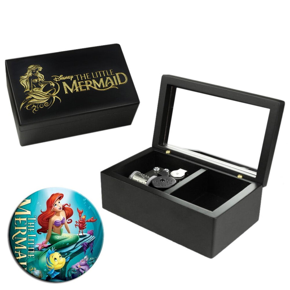 The Little Mermaid - Part of Your World Mechanical Music Box