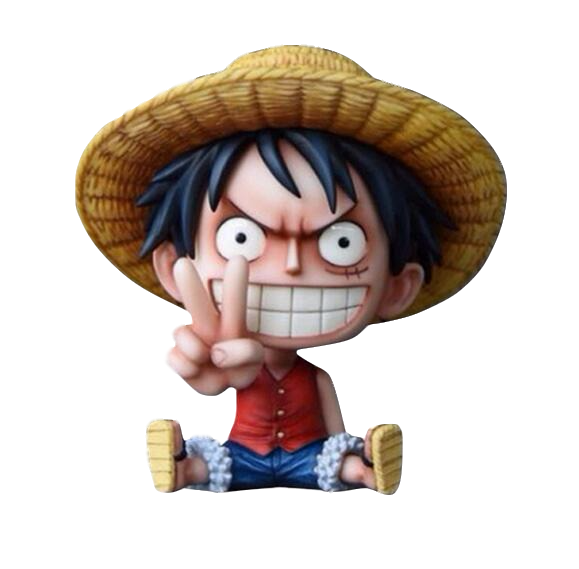 Anime One Piece Naughty Kid Pirates Action Figure Model Toy