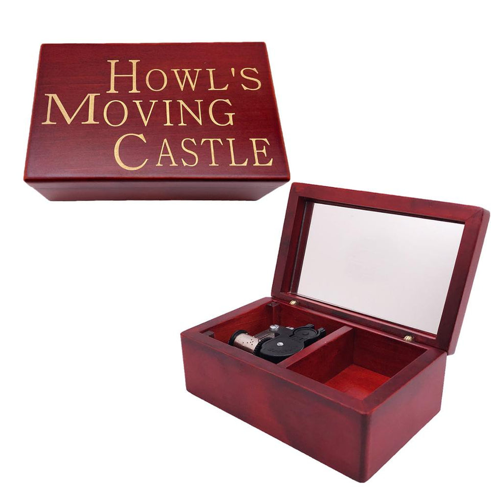 Howl's Moving Castle (Howl 4) - Merry Go Round Of Life Theme Mechanical Music Chest