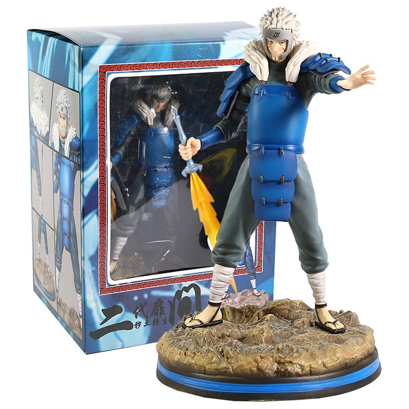 Naruto Shippuden Collectible PVC Figures - Anime Figurine Perfect Collectible Gift for Fans (Hashirama Senju, Tobirama Senju, Tsunade Senju, Hiruzen Sarutobi, Kakashi Hatake, Minato Namikaze & Naruto Uzumaki)