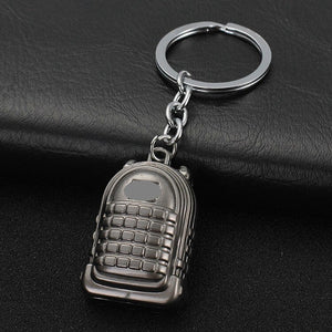 Iconic Video Game PUBG Collectible Design Keychains