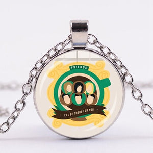 Classic Friends TV Show Necklace Hot American TV  Poster Glass Pendant for Friends