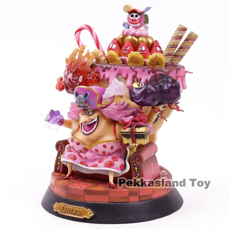 Anime One Piece Big Mom Charlotte Linlin PVC Figure Collectible Model Toy