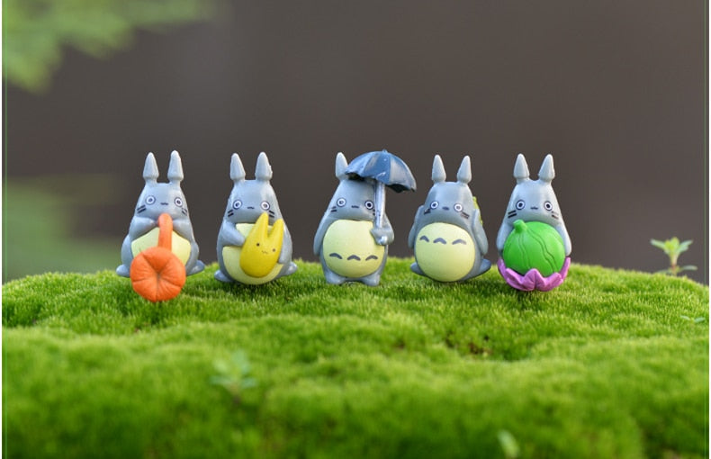 My neighbor Totoro Action Figure Cute Miniature Figurines Toys