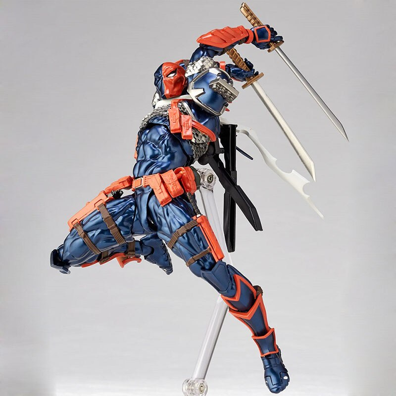 DC Comic's Deathstroke Collectible Action Figure Model Toy - Surprise Gift for DC Fans and Kids