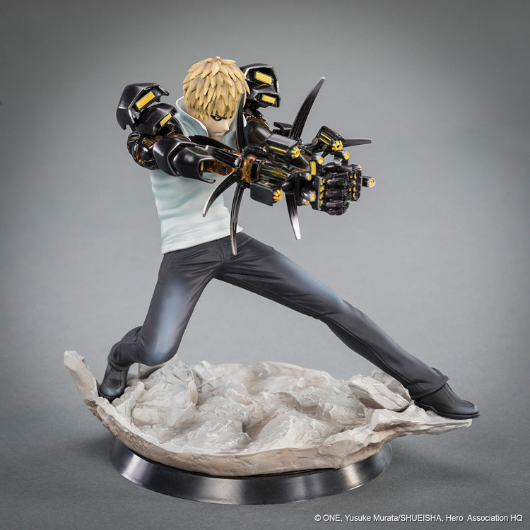 One-Punch Man Saitama & Genos Collectible Action Figure