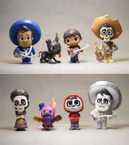Disney Coco Movie Action Figure Model Mini Decoration PVC Collectible Figurine Toy for Children
