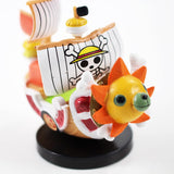 Straw Hat Pirates' Going Merry & Thousand Sunny- One Piece Collectible Mini PVC Action Figures