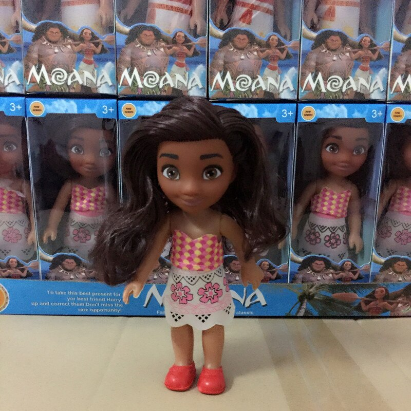 Action Figure Toy Moana Princess Model Toys for Kids
