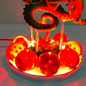 Dragon Ball Z Shenron LED Effect Collectible Action Figure Toys