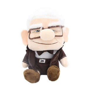 Disney Pixar Movie UP -Grandpa Grandma Cartoon Stuffed Soft Plush Toys