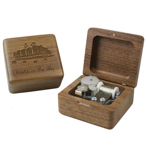 Castle in the Sky Mechanical Music Box