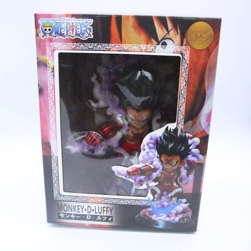 Anime One Piece Gear Fourth Monkey D Luffy PVC Action Figure Collection Models Toys