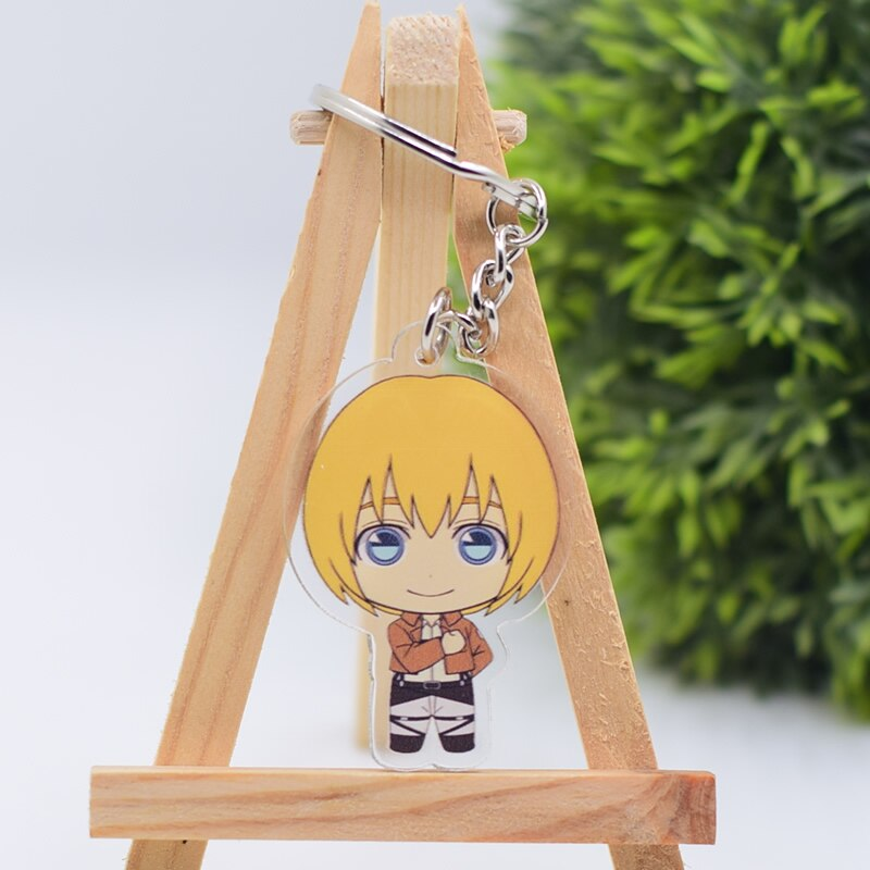 Attack on Titan Cute Character Collectible Acrylic Keychains 2nd Set