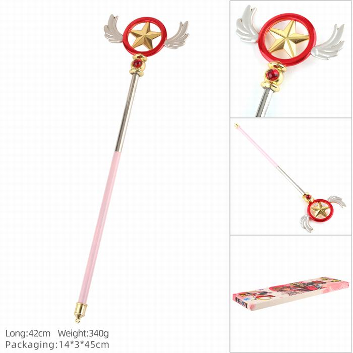 Cardcaptor Sakura Iconic Collectible Cosplay Wands