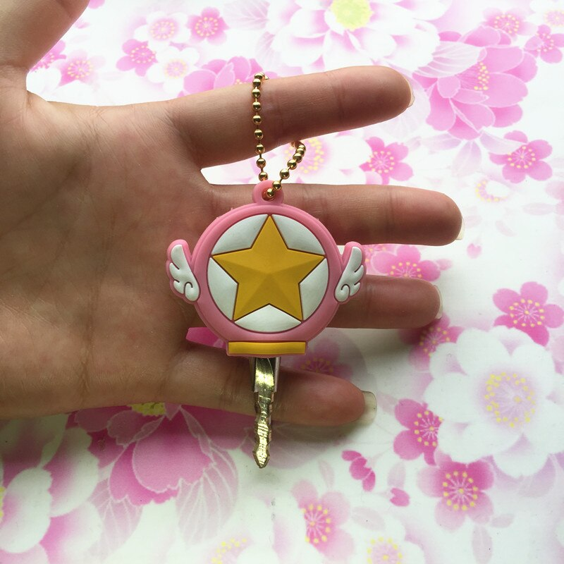 Sailor Moon & Card Captor Sakura Collectible Keychain