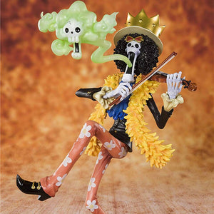 "Anime One Piece Brook the ""Soul King"" Collectible  Action Figure"