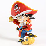 Anime Dragon Pirate Style Goku Collectible PVC Action Figure Toys (15cm)