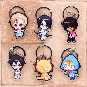 Famous Anime Bleach Cute Collectible Acrylic Keychain 2nd Set