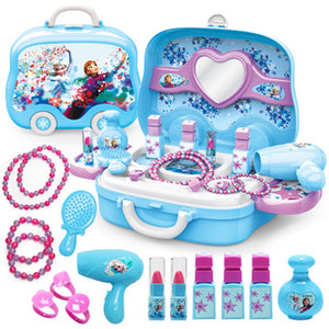 Disney  Princess from Frozen Makeup Kids Simulation Dressing Table Toy Set