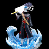 NEW Anime Naruto Shippuden Akatsuki Hoshigaki Kisame PVC Action Figure Collectible Toy