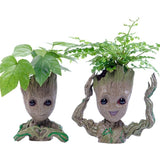 Strongwell Resin Groot Flower Pots For Garden Planters