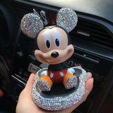 Disney's Mickey & Minnie Mouse Shake Head Doll for Car Accessories