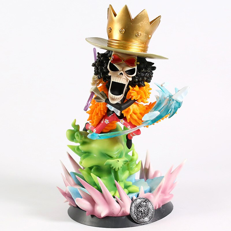 Anime One Piece Brook Figure Collectible Model Toy