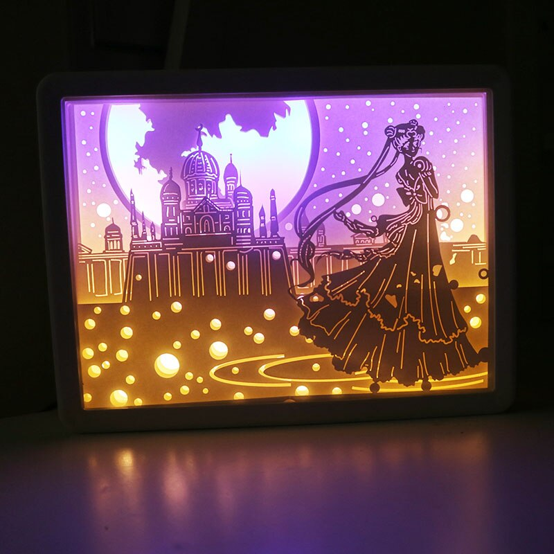 Sailor Moon Princess Serenity LED Light Lamp Pad Collectible Gift