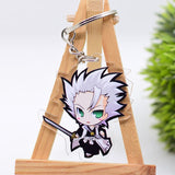 Famous Anime Bleach Cute Collectible Acrylic Keychain 1st Set