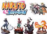 Naruto Shippuden Collectible PVC Figures - Anime Figurine Perfect Collectible Gift for Fans (Mighty Guy, Obito Uchiha, Itachi Uchiha, naruto Uzumaki)