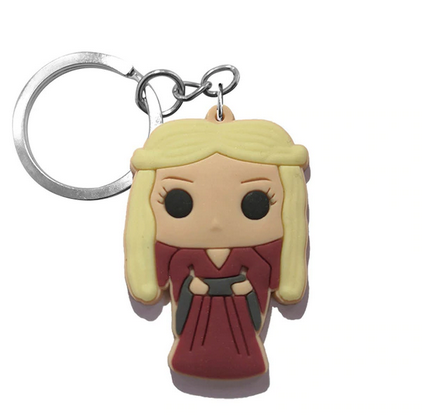 Game Of Thrones Figure Keychain - Daenerys Targaryen